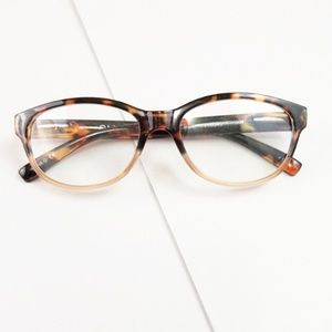 Letty reading glasses in Tortoise with Blush +1.50